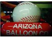 base ball helium advertising balloon