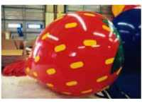 Strawberry balloons - Strawberry helium balloon